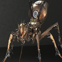 Ant Robot - Steampunk version 机器蚂蚁